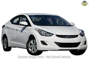 2013 Hyundai Elantra MD2 Active White 6 Speed Sports Automatic Sedan Myaree Melville Area Preview