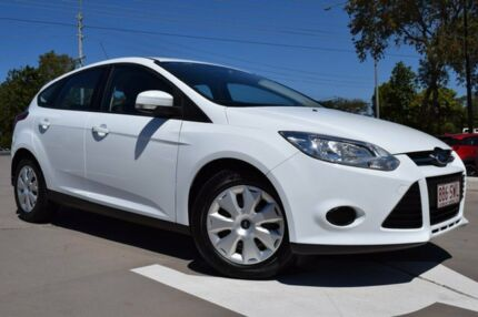 2013 Ford Focus LW MKII Ambiente White 5 Speed Manual Hatchback