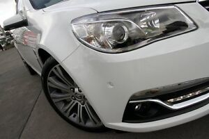 2014 Holden Calais VF V Heron White 6 Speed Automatic Sedan Wolli Creek Rockdale Area Preview