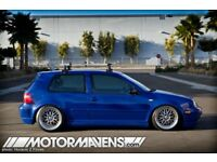 "19"" Rial Daytona Wheels ( BBS RS LM Splits Dish VW Audi Seat Alloys Rims 5x100)"