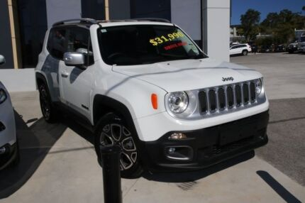 2015 Jeep Renegade BU MY16 Limited DDCT White 6 Speed Sports Automatic Dual Clutch Hatchback