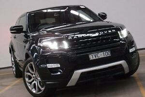 2012 Land Rover Range Rover Evoque L538 MY12 Si4 Coupe CommandShift Dynamic Black 6 Speed Brooklyn Brimbank Area Preview