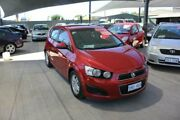 2011 Holden Barina TK MY11 Classic Red 5 Speed Manual Hatchback Mitchell Gungahlin Area Preview