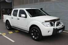 2013 Nissan Navara  White Sports Automatic Utility Launceston 7250 Launceston Area Preview