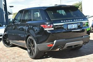 2015 Land Rover Range Rover Sport L494 16MY Black 8 Speed Sports Automatic Wagon Osborne Park Stirling Area Preview