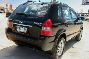 2008 Hyundai Tucson MY09 City SX Black 4 Speed Sports Automatic Wagon Pakenham Cardinia Area Preview