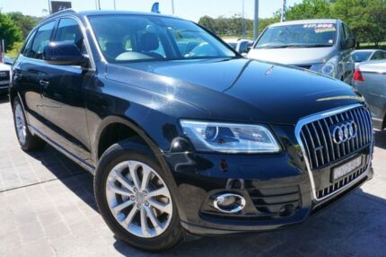 2013 Audi Q5 8R MY13 TDI S tronic quattro Black 7 Speed Sports Automatic Dual Clutch Wagon Pearce Woden Valley Preview