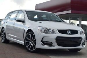 2016 Holden Commodore VF II MY16 SS V Sportwagon White 6 Speed Sports Automatic Wagon Waitara Hornsby Area Preview