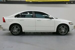 2012 Volvo S40 M Series MY12 T5 Geartronic Lifestyle White 5 Speed Sports Automatic Sedan