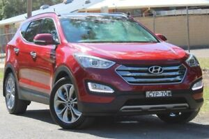 2014 Hyundai Santa Fe DM2 MY15 Highlander Red 6 Speed Sports Automatic Wagon Lansvale Liverpool Area Preview