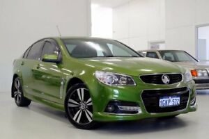 2015 Holden Commodore VF MY15 SV6 Storm Green 6 Speed Sports Automatic Sedan Myaree Melville Area Preview