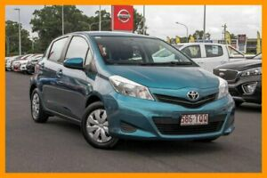 2013 Toyota Yaris NCP130R YR Blue 4 Speed Automatic Hatchback
