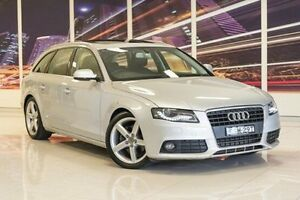2010 Audi A4 B8 8K MY10 Avant Multitronic Silver 8 Speed Constant Variable Wagon Blacktown Blacktown Area Preview