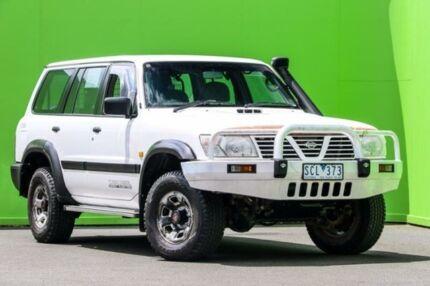 2001 Nissan Patrol GU II ST White 4 Speed Automatic Wagon Ringwood East Maroondah Area Preview