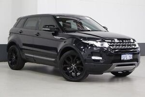 2011 Land Rover Evoque LV SD4 Pure Black 6 Speed Automatic Wagon Bentley Canning Area Preview