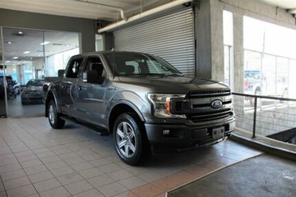2018 Ford F150 XLT Magnetic Automatic 4 X 4 DOUBLE CAB UTILITY Thornleigh Hornsby Area Preview