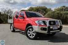 2012 Nissan Navara D40 ST (4x4) Red 6 Speed Manual Dual Cab Pick-up Hillman Rockingham Area Preview