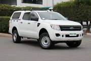 2011 Ford Ranger PX XL Double Cab Cool White 6 Speed Manual Utility Acacia Ridge Brisbane South West Preview
