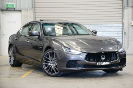 2015 Maserati Ghibli M157 MY16 Silver 8 Speed Sports Automatic Sedan Albion Brisbane North East Preview