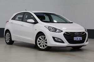 2014 Hyundai i30 GD MY14 Active White 6 Speed Automatic Hatchback Bentley Canning Area Preview
