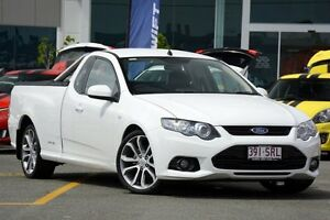 2012 Ford Falcon FG MkII XR6 Super Cab White 6 Speed Sports Automatic Cab Chassis Wavell Heights Brisbane North East Preview