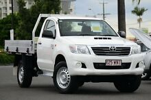 2015 Toyota Hilux KUN26R MY14 SR Glacier 5 Speed Automatic Cab Chassis Macgregor Brisbane South West Preview