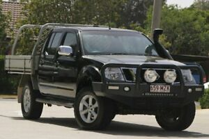 2010 Nissan Navara D40 ST-X Black 6 Speed Manual Utility