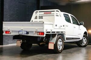 2013 Holden Colorado RG MY14 LX Crew Cab White 6 Speed Sports Automatic Utility Northbridge Perth City Area Preview