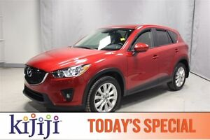2014 Mazda CX-5 AWD GT TECH Navigation (GPS),  Leather,  Sunroof