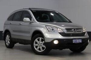2009 Honda CR-V MY07 (4x4) Luxury Grey 5 Speed Automatic Wagon Bentley Canning Area Preview