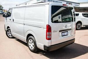 2013 Toyota Hiace TRH201R MY12 LWB Silver 5 Speed Manual Van Cannington Canning Area Preview