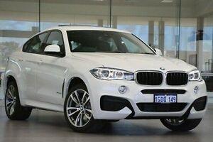 2016 BMW X6 F16 xDrive30d Coupe Steptronic White 8 Speed Sports Automatic Wagon Wangara Wanneroo Area Preview
