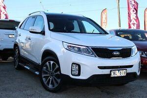 2013 Kia Sorento XM MY13 Platinum 4WD White 6 Speed Sports Automatic Wagon Cheltenham Kingston Area Preview