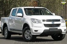2012 Holden Colorado RG MY13 LX Crew Cab White 6 Speed Sports Automatic Utility Glendalough Stirling Area Preview