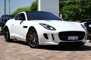 2015 Jaguar F-Type X152 MY16 Quickshift RWD White 8 Speed Seq Manual Auto-Clutch Coupe Osborne Park Stirling Area Preview