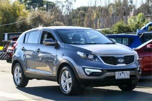 2011 Kia Sportage SL MY12 SI Silver 6 Speed Sports Automatic Wagon Ringwood East Maroondah Area Preview