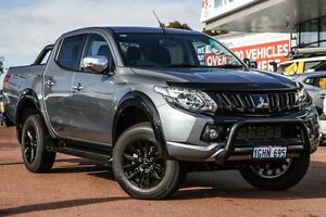 2017 Mitsubishi Triton MQ MY17 GLS Double Cab Sports Edition Titanium 5 Speed Sports Automatic Wilson Canning Area Preview