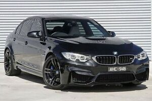 2016 BMW M3 Black Sports Automatic Dual Clutch Sedan Ringwood East Maroondah Area Preview