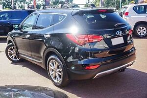 2013 Hyundai Santa Fe DM MY13 Elite Black 6 Speed Sports Automatic Wagon Westminster Stirling Area Preview