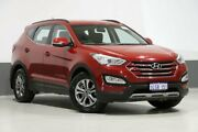 2015 Hyundai Santa Fe DM MY15 Active CRDi (4x4) Red 6 Speed Automatic Wagon Bentley Canning Area Preview