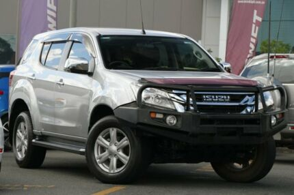 2014 Isuzu MU-X MY14 LS-U Rev-Tronic 4x2 Silver 5 Speed Sports Automatic Wagon