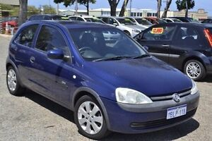 2003 Holden Barina XC MY03 SXI Blue 5 Speed Manual Hatchback Pearsall Wanneroo Area Preview