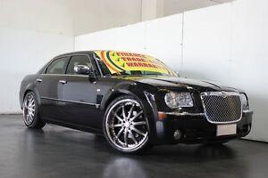 2006 Chrysler 300C LE MY06 3.5 V6 Black 5 Speed Automatic Sedan Underwood Logan Area Preview