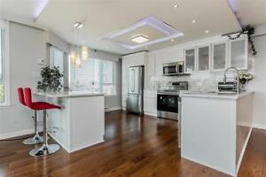 OPEN HOUSE  2 bed modern renovated corner unit