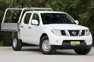 2013 Nissan Navara D40 S7 MY12 RX 4x2 6 Speed Manual Utility Ferntree Gully Knox Area Preview