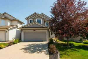 PRIVATE BACKYARD backing onto trees- 4 bedrooms - 1135 115 ST