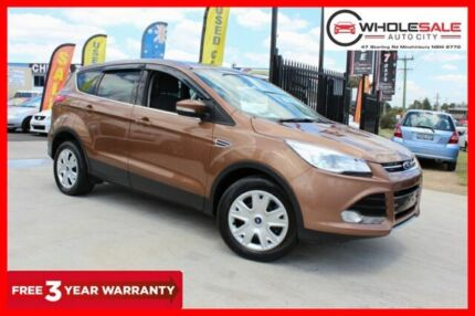 2014 Ford Kuga TF Ambiente Wagon 5dr Man 6sp, 2WD 1.6T Gold Manual Wagon Minchinbury Blacktown Area Preview