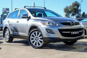 2009 Mazda CX-9 TB10A1 Luxury Aluminium 6 Speed Sports Automatic Wagon Kirrawee Sutherland Area Preview