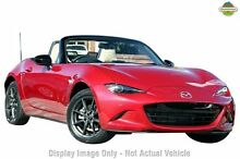 2015 Mazda MX-5 ND ROADSTER GT Red 6 Speed Manual Convertible Wilson Canning Area Preview