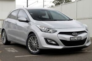 2012 Hyundai i30 GD Active Silver 6 Speed Sports Automatic Hatchback Gosford Gosford Area Preview